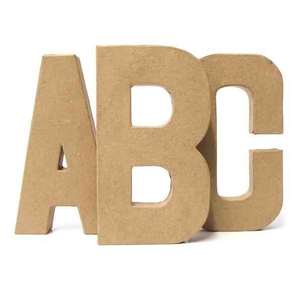 Lettere e Numeri di Cartone