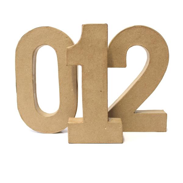 Numeri di Cartone Grandi