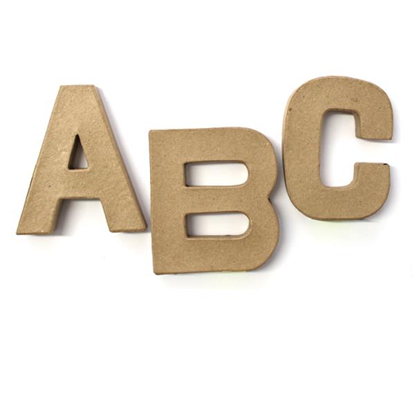 Lettere di Cartone Piccole