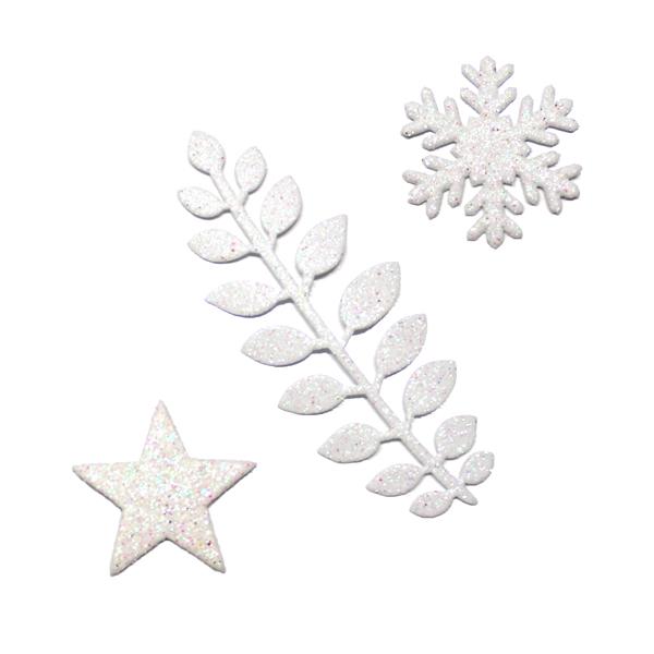 Formine Glitter Bianche