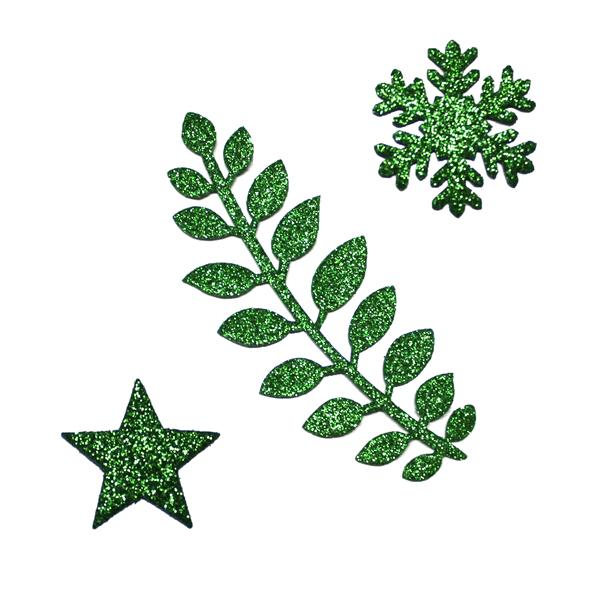 Formine Glitter Verdi