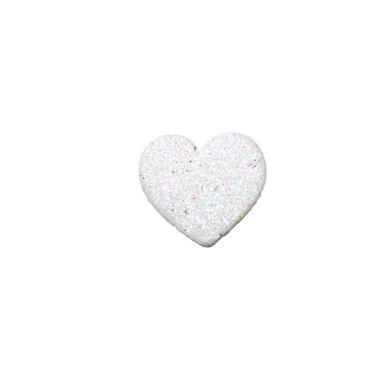 formine bianche cuore