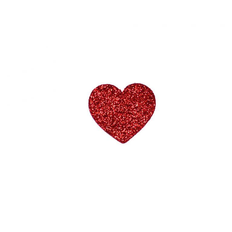 formine rosse cuore