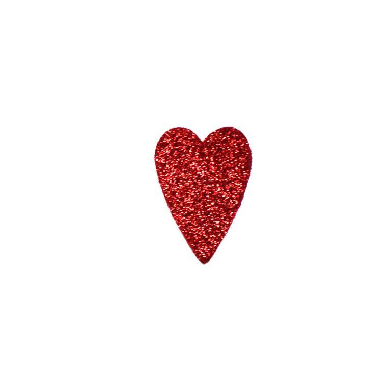 formine rosse cuore lungo