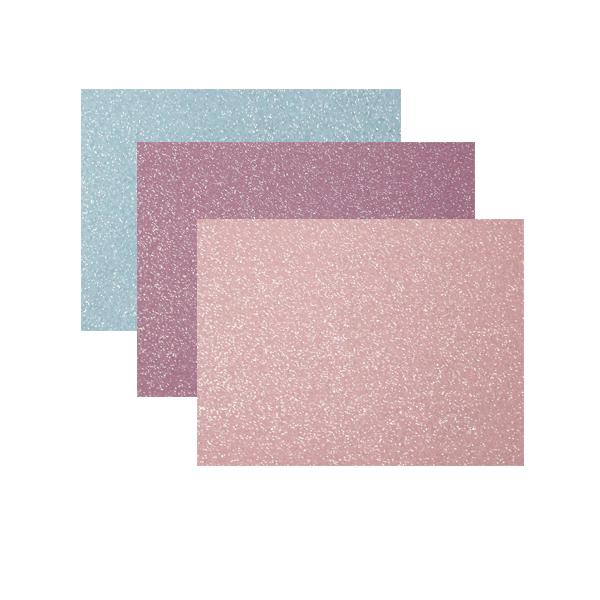 Feltro Glitter 3 mm 50x35 cm