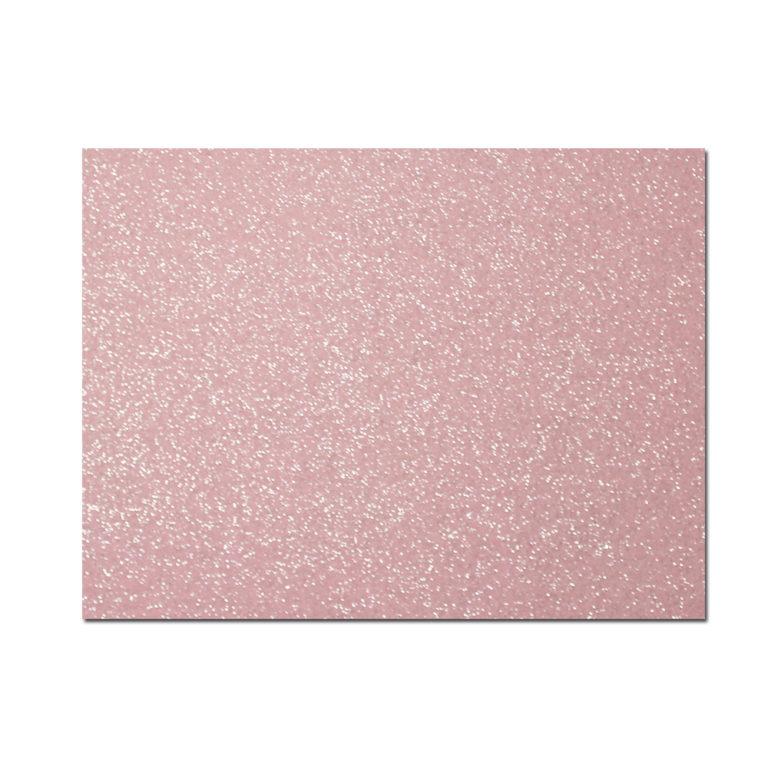 feltro glitter rosa chiaro